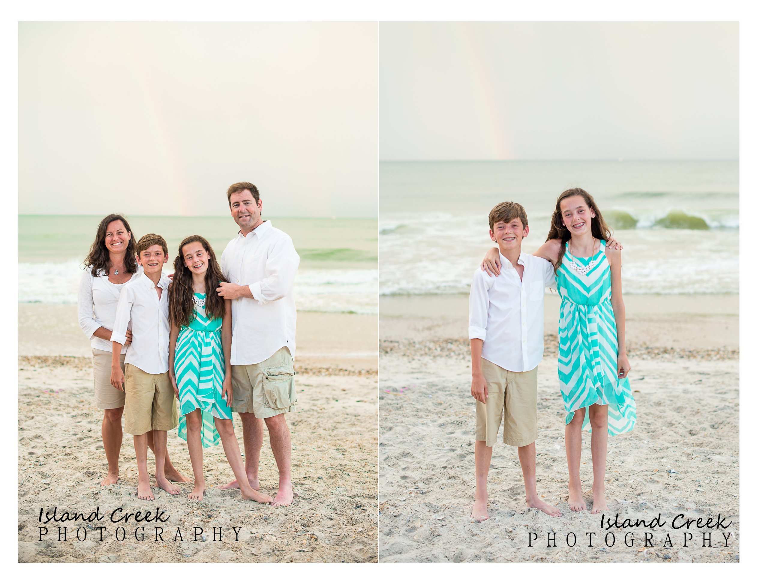 The White Family Beach Portraits {North Topsail, North ...