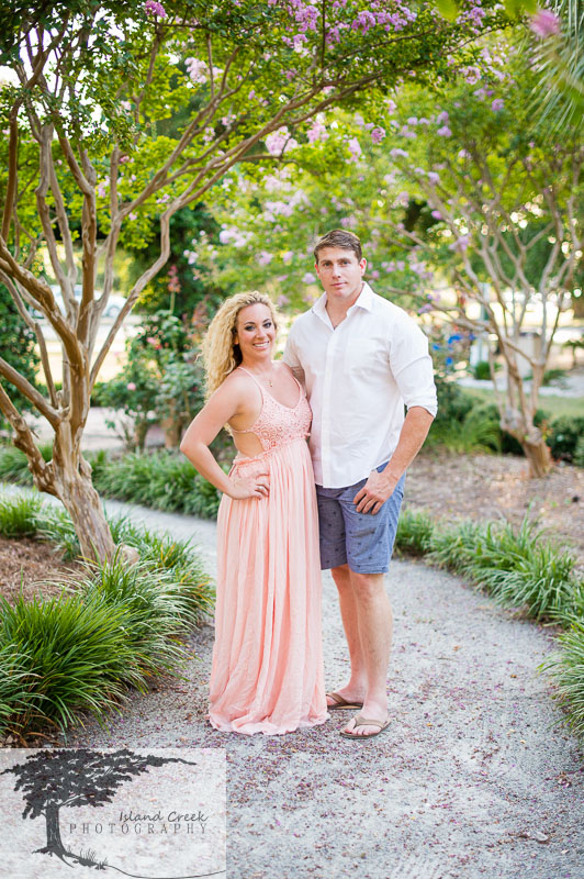 36 Maxi Dress Perfect For Garden Engagement Portraits In Wilmington Nc Jpg